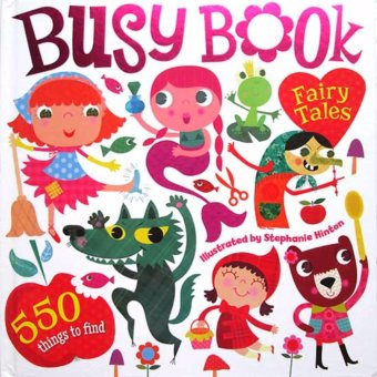 Harga Hellopandabooks - Busy Book Fairy Tales with 550 Things to Find (Look and Find Board Book)