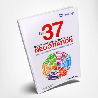 Harga Suka Buku - The 37 Most Powerful Tactics on Negotiation