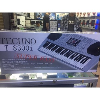 keyboard piano techno t-8300i