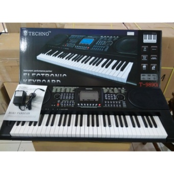 keyboard piano techno t 9890