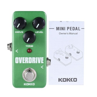 KOKKO FOD3 Mini Overdrive Pedal Portable Guitar Effect Pedal - intl
