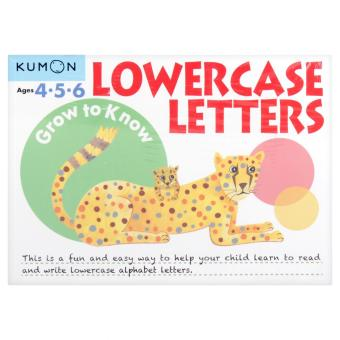 Kumon Workbooks : Grow to Know Lowercase Letters