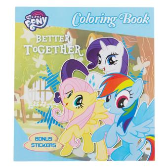 My Little Pony Coloring Book S Better Together