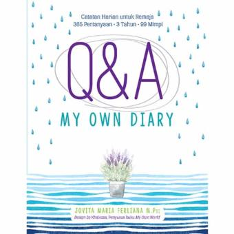 Q AND A MY OWN DIARY Hard Cover