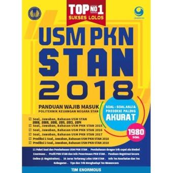 Top No.1 Sukses Lolos USM PKN STAN 2018