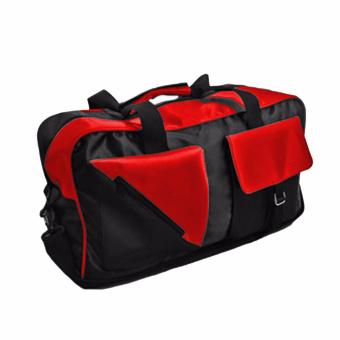 Harga Bag & Stuff Funky Big Travel Bag - Merah