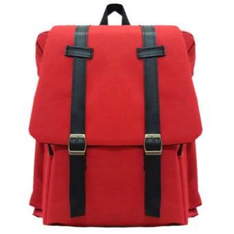 Harga Bag & Stuff Korea M2M Backpack - Merah