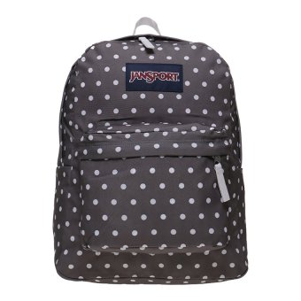 Harga JanSport Superbreak Backpack - Shady Grey-White Dots