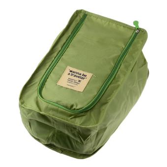 TokoKadoUnik Travelling Shoe Bag - Hijau
