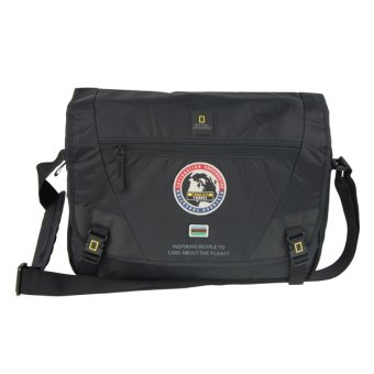 Harga National Geographic NO1106-06 Messenger Bag - Black