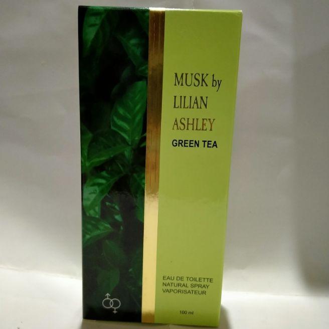 musk by lilian ashley green tea100 ml