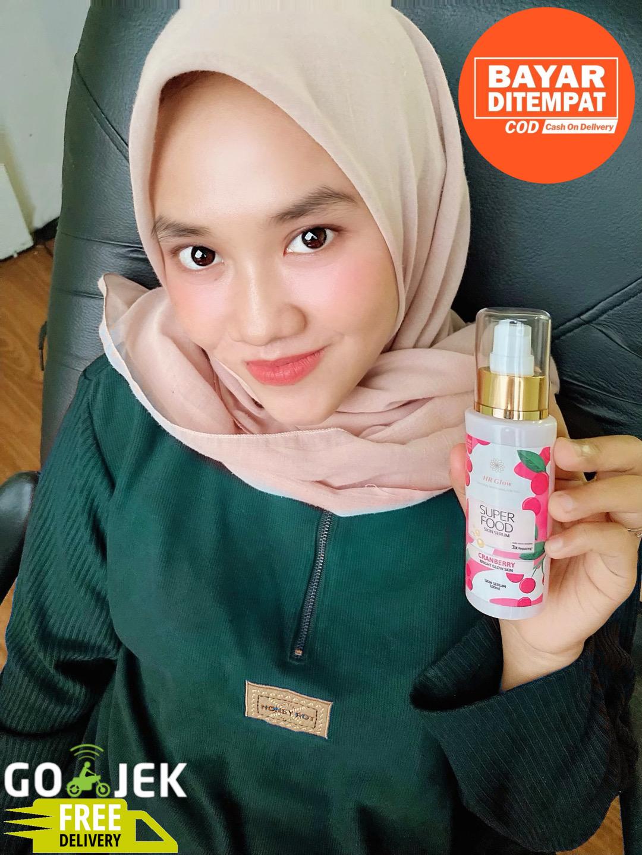 skin serum hr glow cranberry – 100ml botol besar bpom / kosmetik original / krim / cream pemutih wajah glowing / bpom / cream wajah / bibit pemutih / bibit cair infus / kosmetik  / cream hn / sabun pemutih