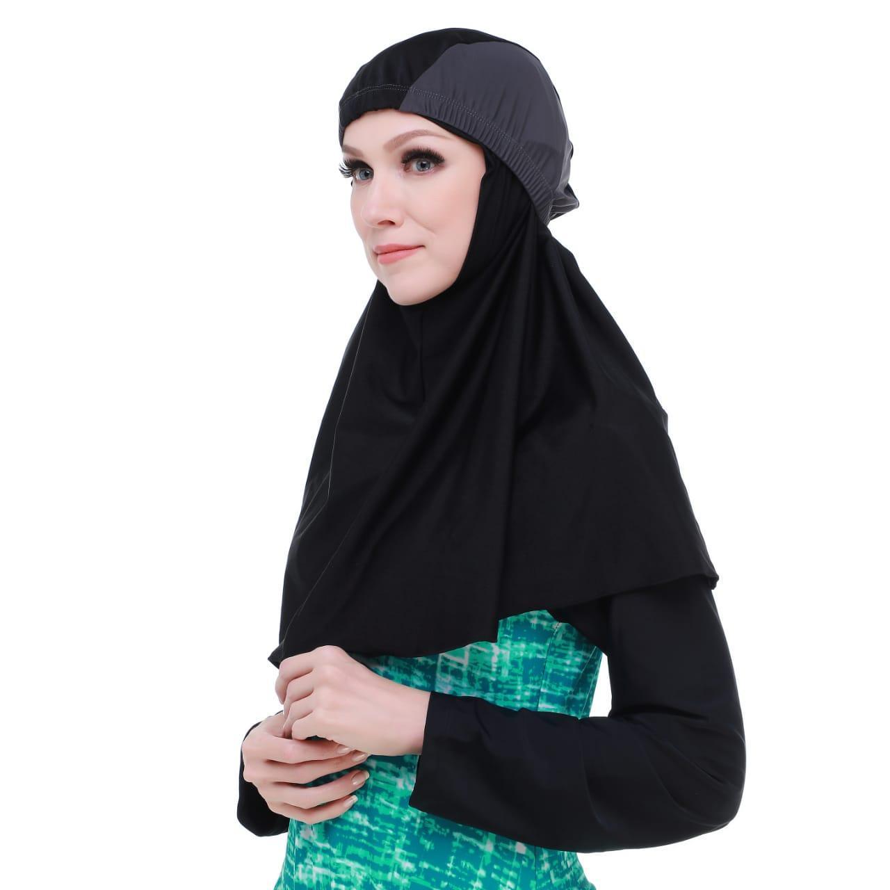 jilbab renang kerudung renang hijab renang topi renang dewasa