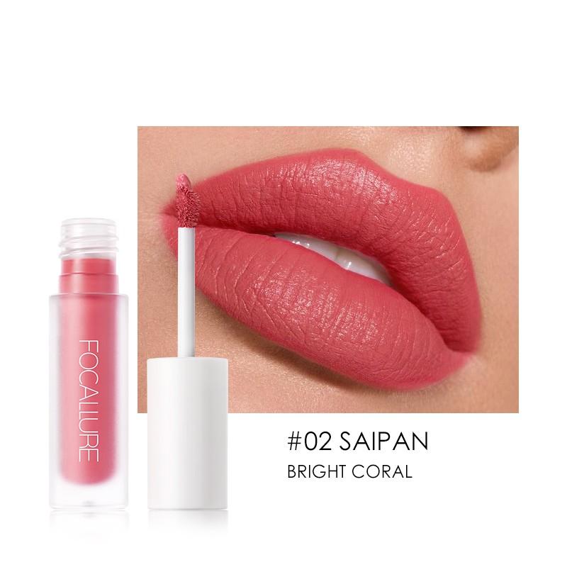 focallure staymax lisptick matte – tahan 24jam / lipstik tahan lama anti air / lipstik / lipcream / liptint / lipglos bening / implora / wardah