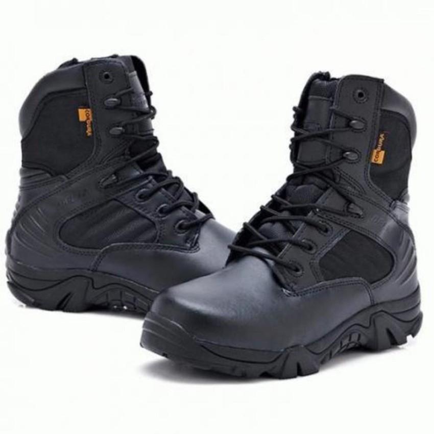 sepatu delta 8 inci tactical army hitam  original – bayar tempat ( cod )