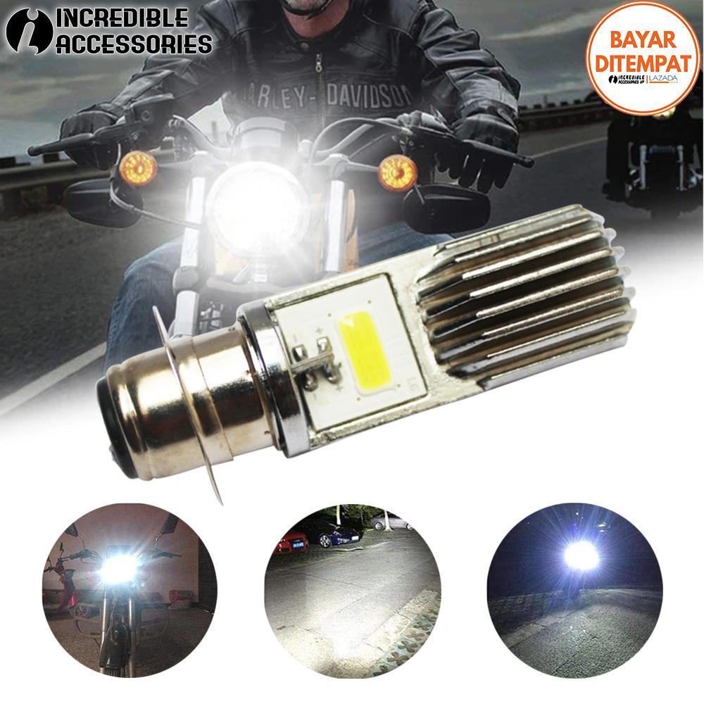 Lampu Led Motor 2 Sisi Untuk Motor Matic & Lainya Soket H4 - LED Headlight Motor
