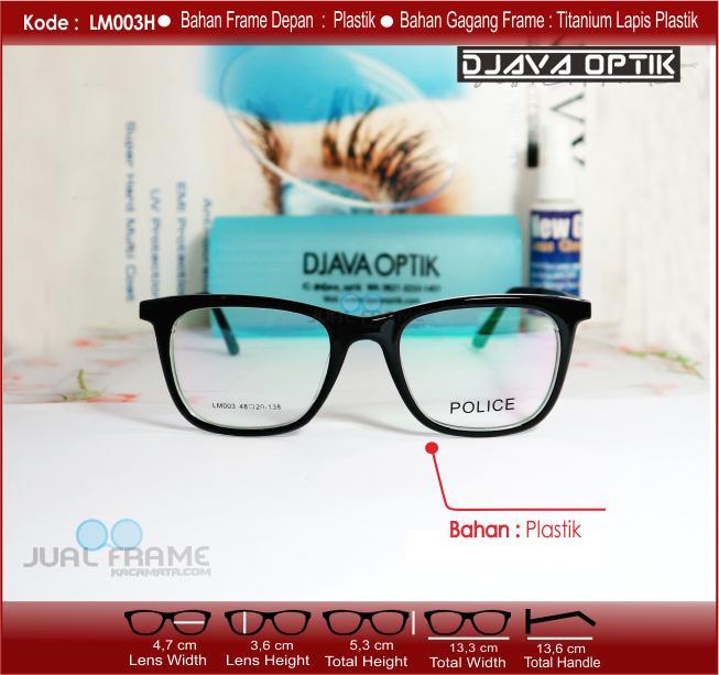 ... Frame kacamata LM003 + lensa minus plus silinder kacamata baca gaya  untuk pria dan ... 8002e7fcac
