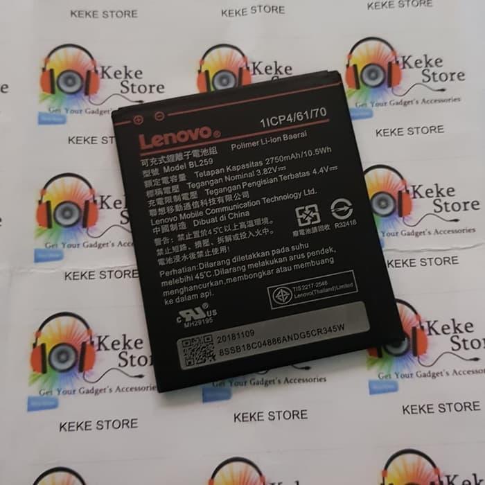 baterai original lenovo vibe k5 plus a6020 lemon 3 k5+ bl259 battery batre