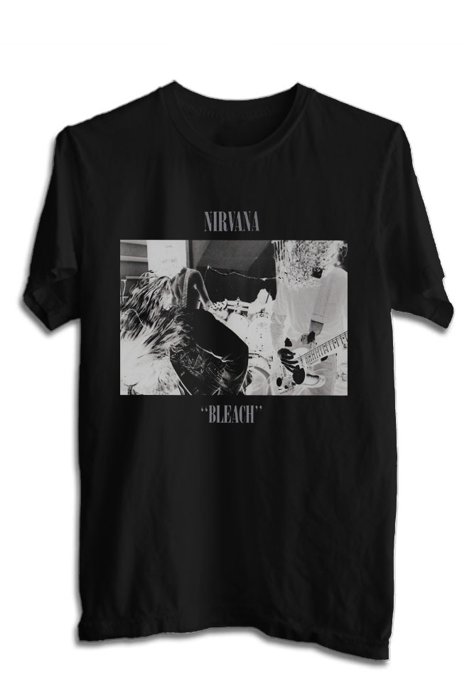 kaos bnirvana tshirt musik rock kurt cobain 27