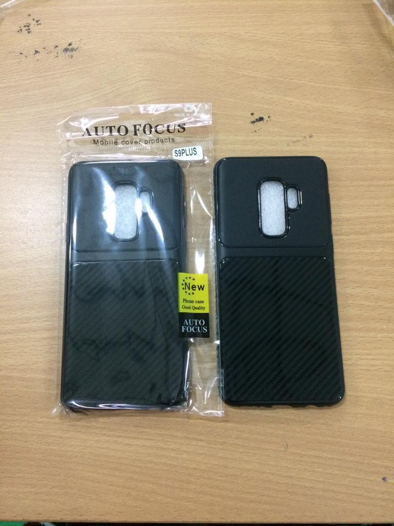 Case AUTOFOCUS premium FIBER CARBON for Samsung S9 plus