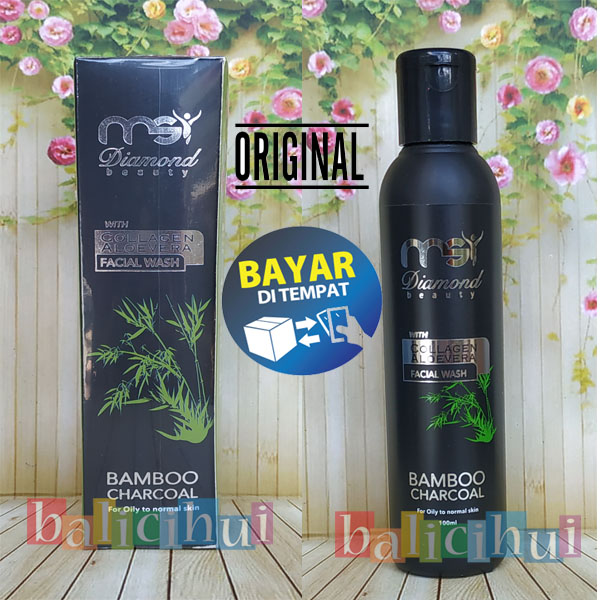 balicihui msi sabun bamboo ulive cair / msi liquid charcoal soap 100% original