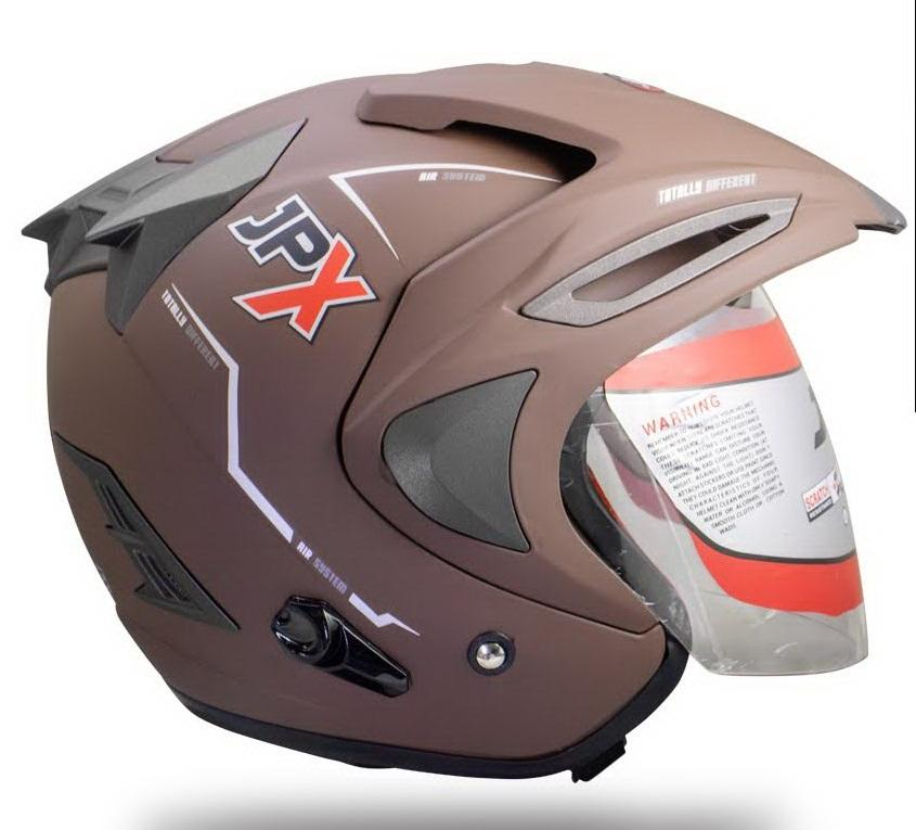 ... JPX SUPREME - Helm SOLID - Brown Doff - 4