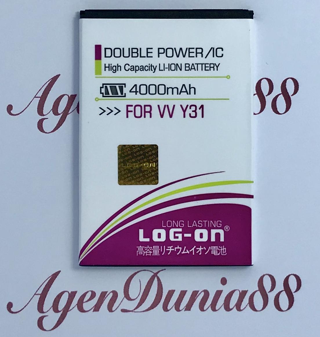 Review Baterai For Vivo Y31 Y28 Bk B 77 Log On Double Power