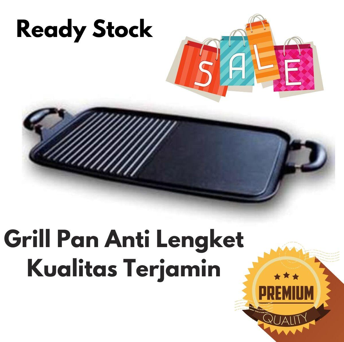 omicko multi grill pan atau wajan panggang serbaguna