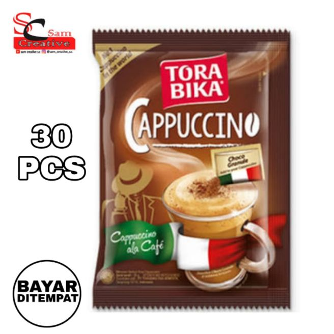 kopi torabika cappuccino isi 30pcs