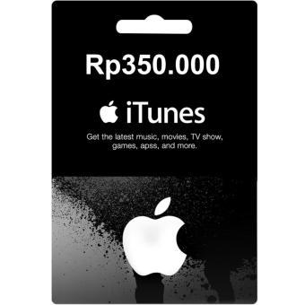 ... Apple iTunes Gift Card Rp350000 Region Indonesia Digital Code