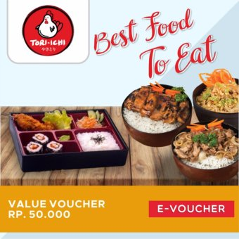 Harga Tori-Ichi Value E-Voucher 50K