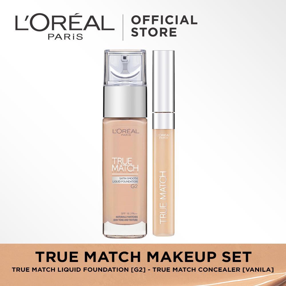 L'Oreal Paris True Match Makeup Set