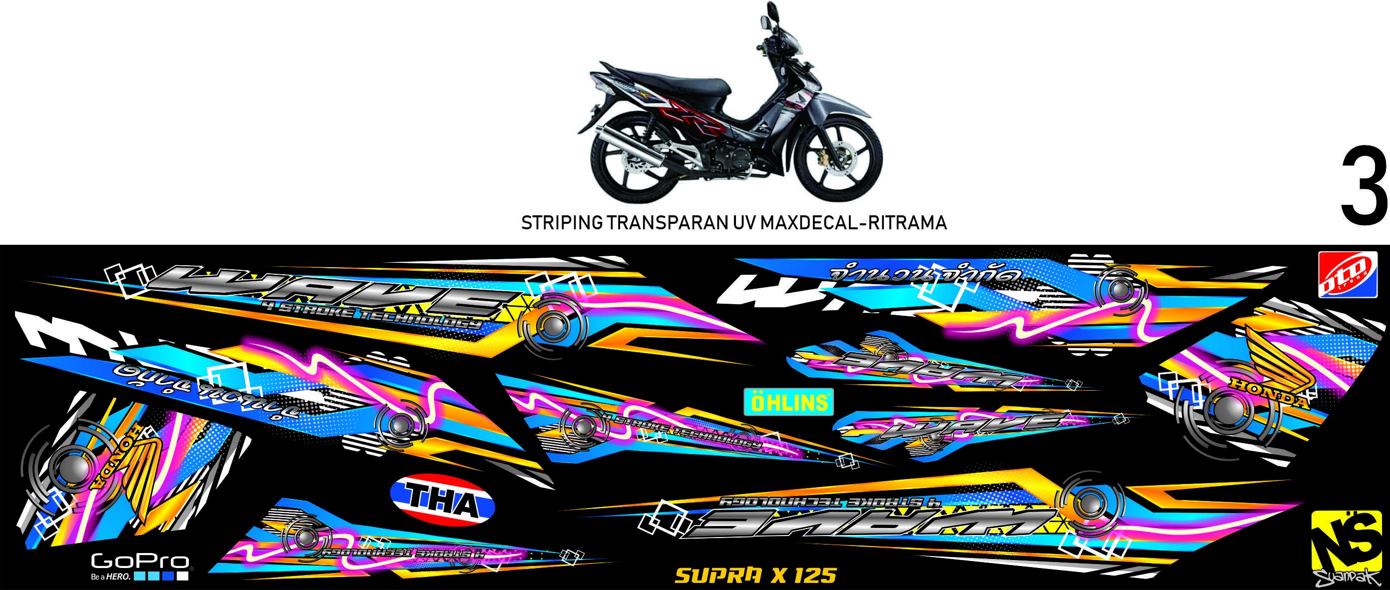 striping wave supra fit