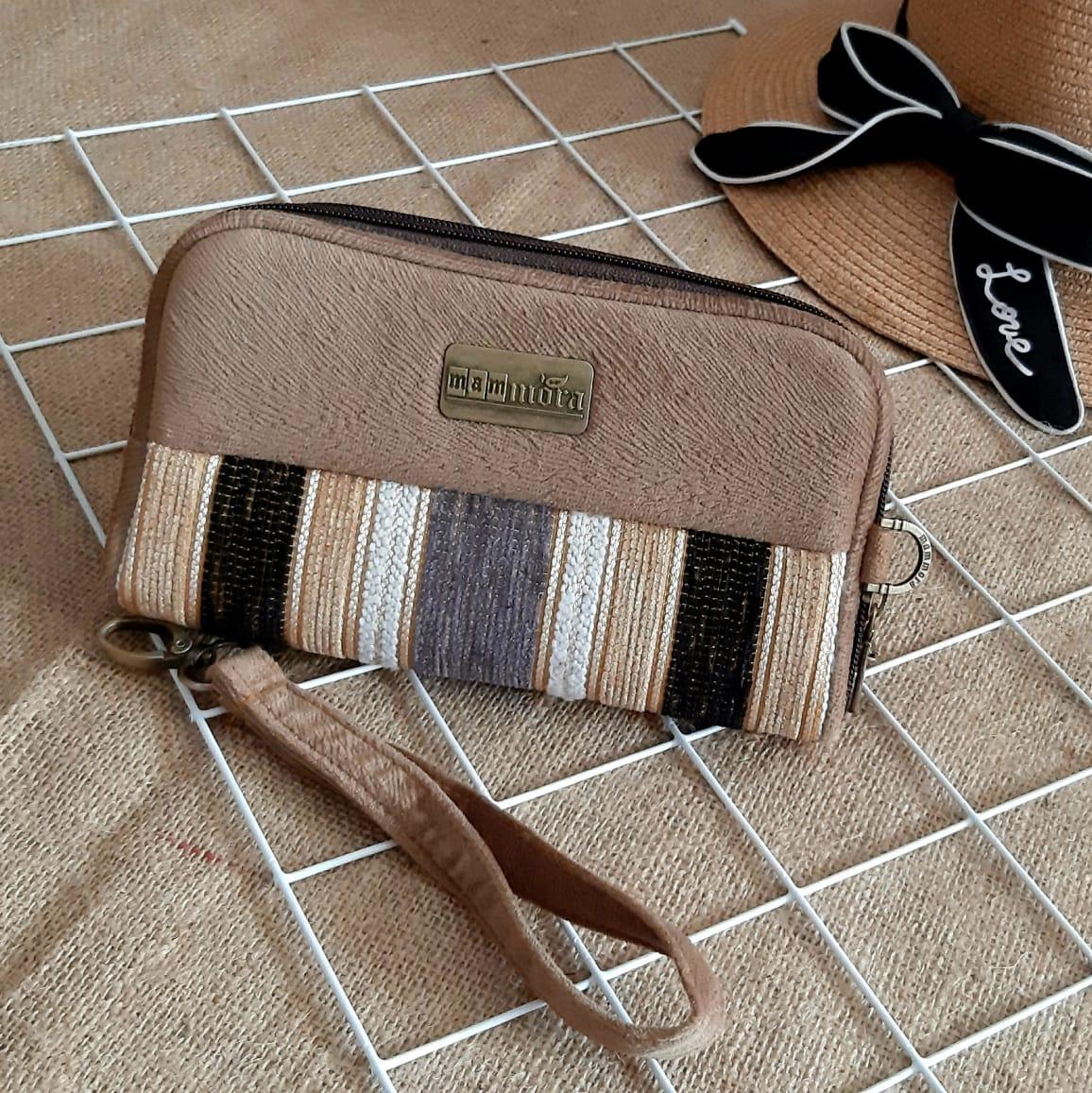 dompet hp organizer wanita mammora sw smart wallet ethnic handmade