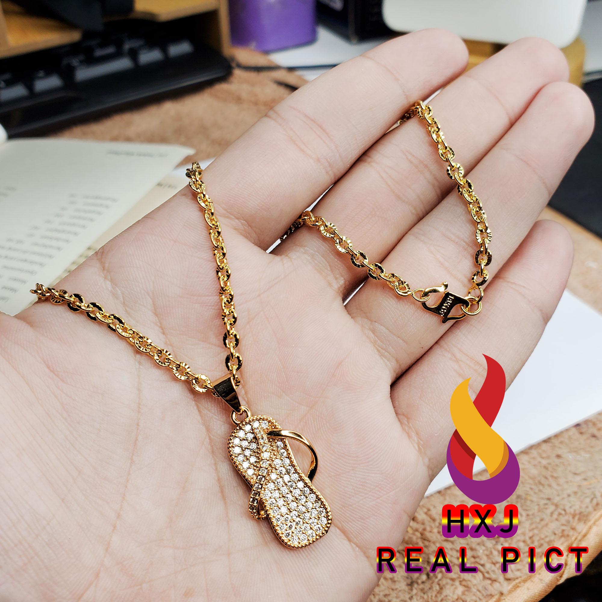 kalung nori xuping gold imitasi model sandal mewah aladin – xuping gold