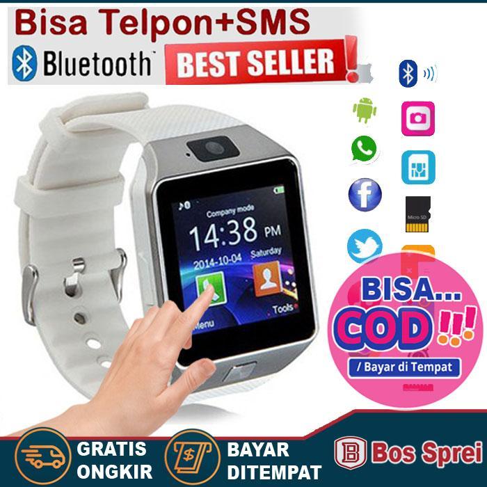 bayar cod original smartwatch u9 smart watch dz09 jam tangan hp android support simcard