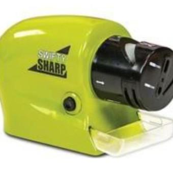 Alat Pengasah Pisau/Gunting Pengasah / Asahan Pisau Elektrik Otomatis - Original Swifty Sharp Terbaru