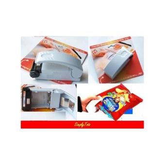 Alat Segel Plastik Kemasan Kantong (Super Sealer) Plastik Sealer Mini Bungkus Hand Sealer Perekat