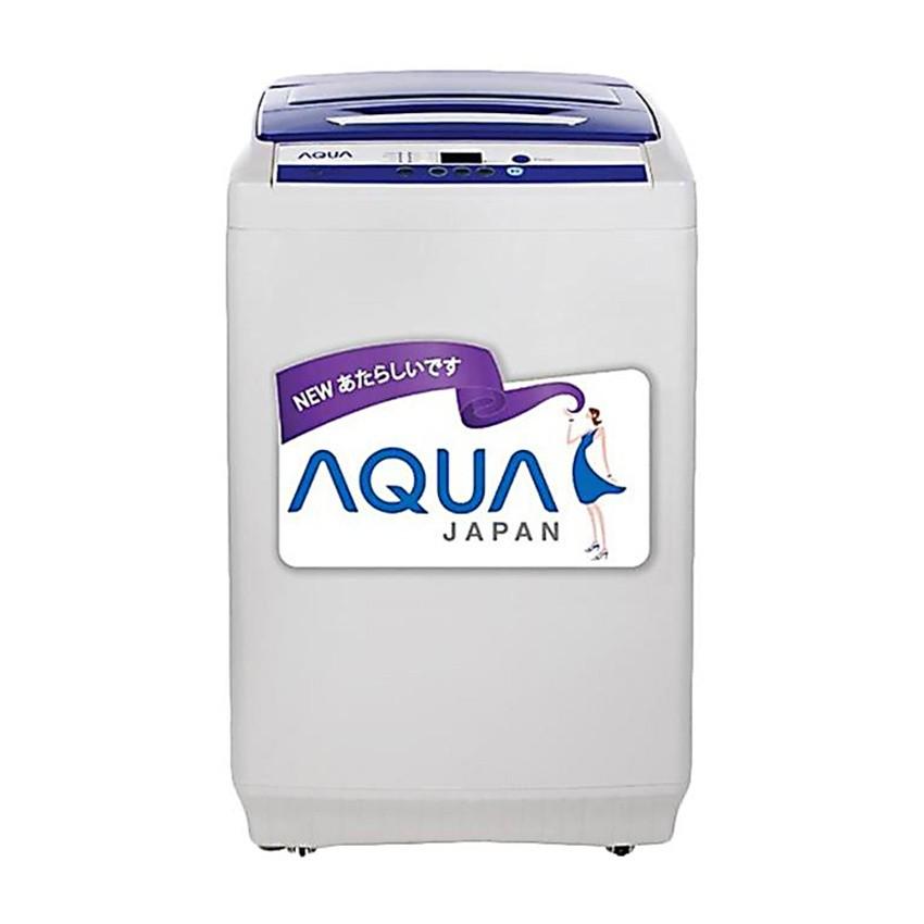 AQUA Mesin Cuci Top Load AQW-99XTF - Kapasitas 9 KG Gratis Pengiriman JABODETABEK dan