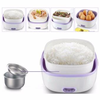 StarHome Rice Cooker Mini 2 Susun kapasitas 1 L - Penanak Nasi Mini - Egg Boiler