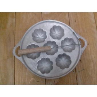Cetakan Kue Cubit Kembang Besar - B63939