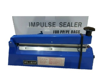 Harga Willman Impulse Hand Sealer Alat Press Plastik FS 300 - Biru