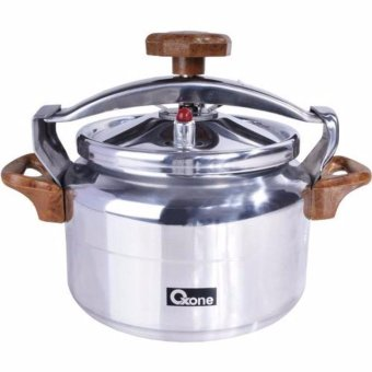 Oxone Pressure Cooker Alupress 8 Liter OX-2008 - Silver