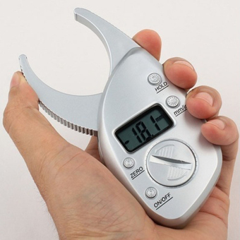 Harga Digital Body Fat Caliper Skin Fold Analyzer Measuring Tape with LCD Display Home Appliances Fan Accessories - intl
