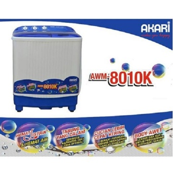 Gratis Pengiriman Surabaya Mojokerto Jombang Kediri Madiun. Source · Akari AWM8010k Mesin .