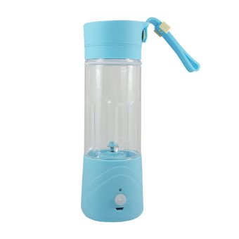 Harga Shake n Go - Portable and Rechargeable Battery Juice Blender - Biru