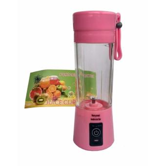 Harga Portable Blender Juice Cup Mini Electric 380ML Rechargeable
