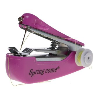 Harga Paling Laku Mesin Jahit Portable Mini - Mini Sewing Machine - Random Color