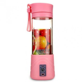 Harga Shake n Go - Juice Blender Portable and Rechargeable Battery - Pink