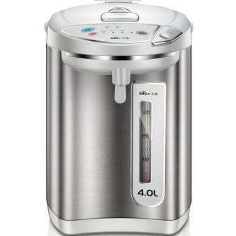 Harga Bear ZDH-P40Q1 4 gears heat preservation intelligent bh 4.0L heat preservation electric kettle (Silver) - intl